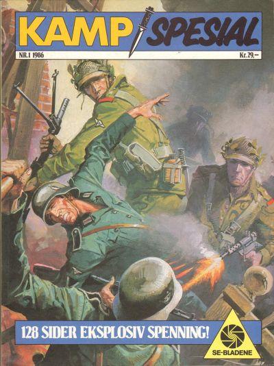 Cover for Kamp Spesial (Serieforlaget / Se-Bladene / Stabenfeldt, 1986 series) #1/1986