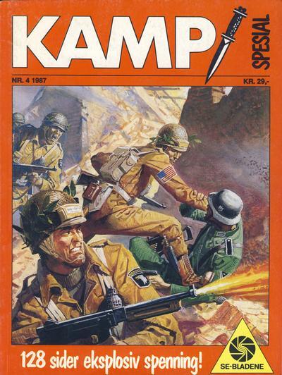 Cover for Kamp Spesial (Serieforlaget / Se-Bladene / Stabenfeldt, 1986 series) #4/1987