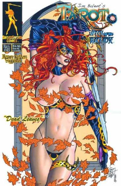 Cover for Tarot: Witch of the Black Rose (Broadsword, 2000 series) #43 [Cover B]