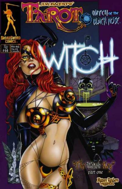 Cover for Tarot: Witch of the Black Rose (Broadsword, 2000 series) #44