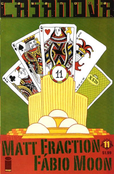 Cover for Casanova (Image, 2006 series) #11