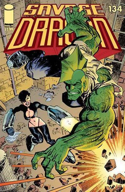 Cover for Savage Dragon (Image, 1993 series) #134