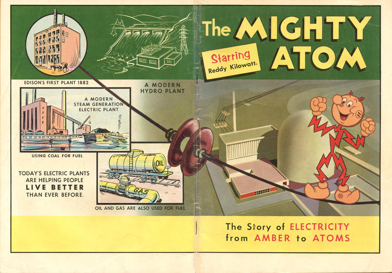 Cover for The Mighty Atom Starring Reddy Kilowatt (Western, 1959 series) #1