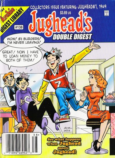 Cover for Jughead's Double Digest (Archie, 1989 series) #138 [Direct Edition]
