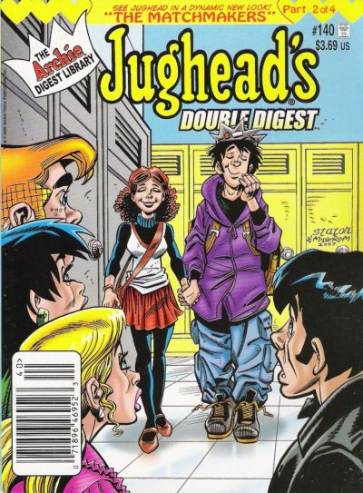 Cover for Jughead's Double Digest (Archie, 1989 series) #140