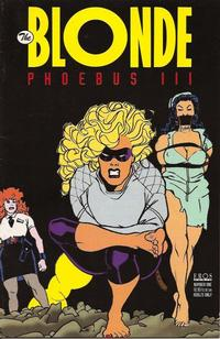 Cover Thumbnail for The Blonde: Phoebus III (Fantagraphics, 1995 series) #1