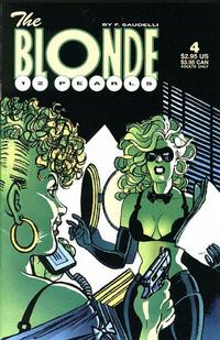 Cover Thumbnail for The Blonde: 12 Pearls (Fantagraphics, 1996 series) #4