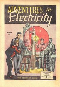 Cover Thumbnail for Adventures in Electricity (General Comics, 1945 series) #6
