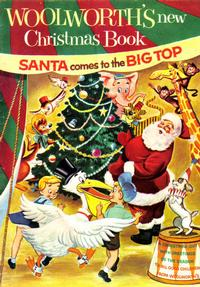 Cover Thumbnail for Woolworth's New Christmas Book (Western, 1954 series)