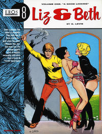 """Cover Thumbnail for Eros Graphic Albums (Fantagraphics, 1991 series) #8 - Liz & Beth volume one: """"A Good Licking"""""""