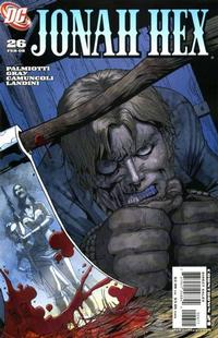 Cover Thumbnail for Jonah Hex (DC, 2006 series) #26