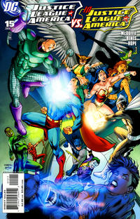 Cover Thumbnail for Justice League of America (DC, 2006 series) #15 [Direct]