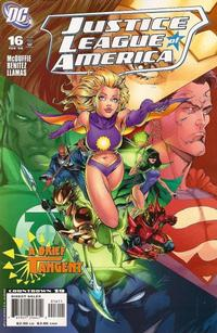 Cover Thumbnail for Justice League of America (DC, 2006 series) #16 [Direct Sales]