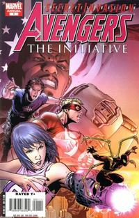 Cover Thumbnail for Avengers: The Initiative Annual (Marvel, 2008 series) #1