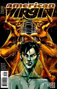Cover Thumbnail for American Virgin (DC, 2006 series) #18