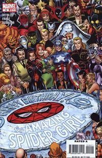Cover Thumbnail for Amazing Spider-Girl (Marvel, 2006 series) #15