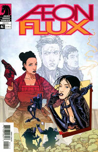 Cover for Aeon Flux (Dark Horse, 2005 series) #4
