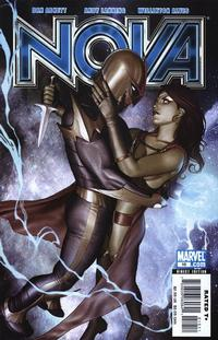 Cover for Nova (Marvel, 2007 series) #10