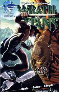 Cover for Wrath of the Titans (Bluewater / Storm / Stormfront / Tidalwave, 2007 series) #2 [Nadir Balen Sketch Cover]