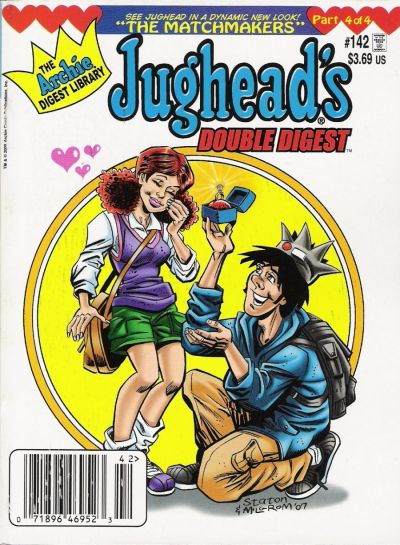 Cover for Jughead's Double Digest (Archie, 1989 series) #142
