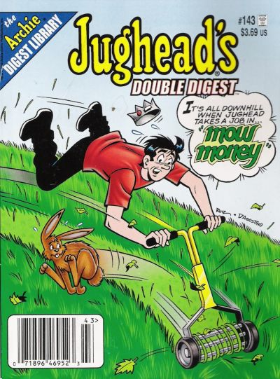 Cover for Jughead's Double Digest (Archie, 1989 series) #143 [Direct]