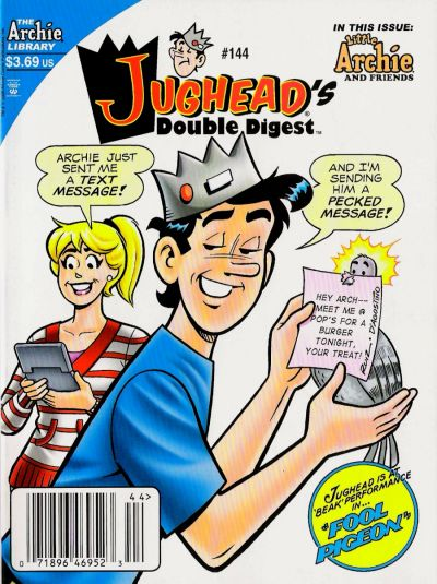 Cover for Jughead's Double Digest (Archie, 1989 series) #144