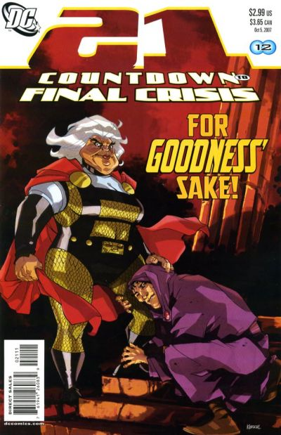 Cover for Countdown (DC, 2007 series) #21