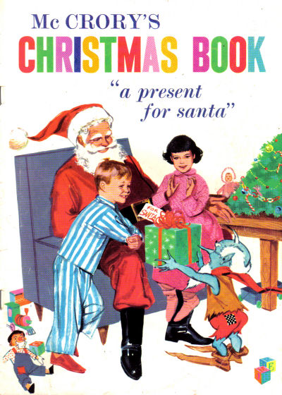 Cover for McCrory's Christmas Book (Western, 1955 series)