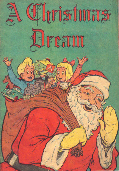 Cover for A Christmas Dream (Western, 1949 series)