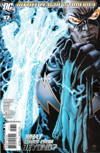 Cover for Justice League of America (DC, 2006 series) #17