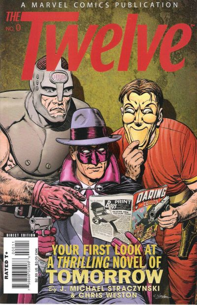 Cover for The Twelve (Marvel, 2008 series) #0