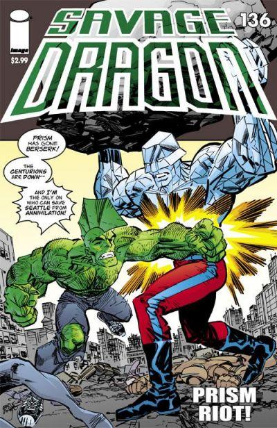 Cover for Savage Dragon (Image, 1993 series) #136
