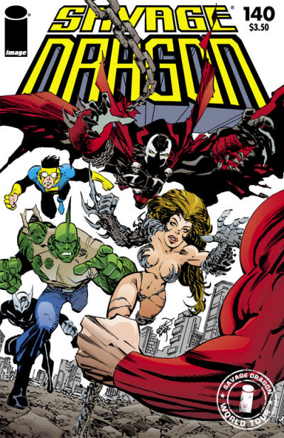 Cover for Savage Dragon (Image, 1993 series) #140