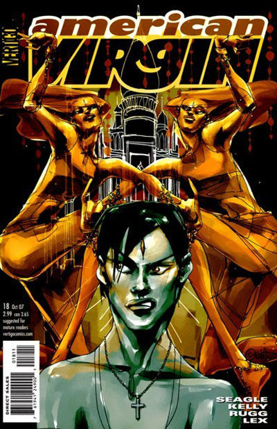 Cover for American Virgin (DC, 2006 series) #18