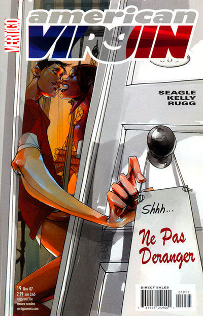 Cover for American Virgin (DC, 2006 series) #19