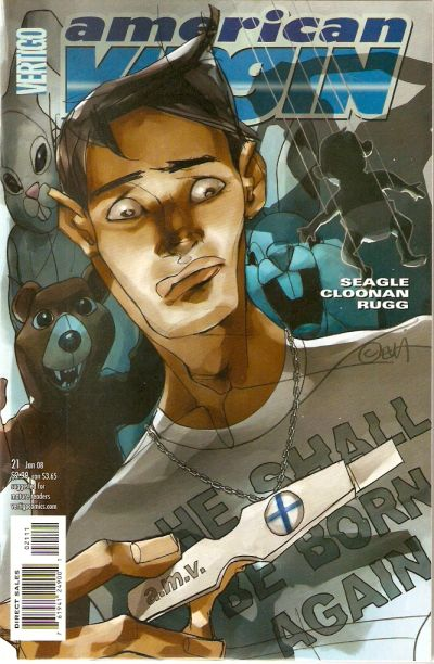 Cover for American Virgin (DC, 2006 series) #21