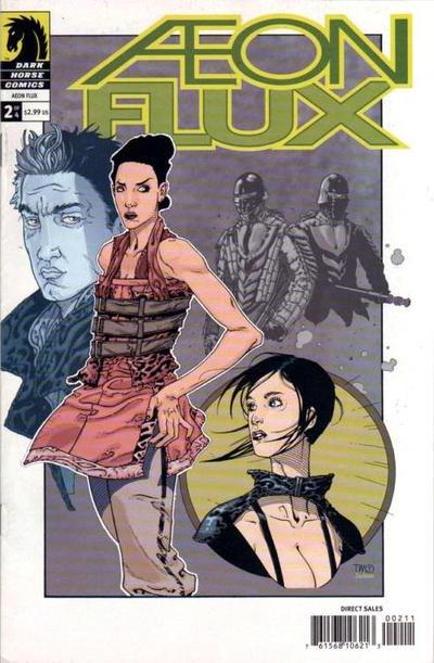 Cover for Aeon Flux (Dark Horse, 2005 series) #2