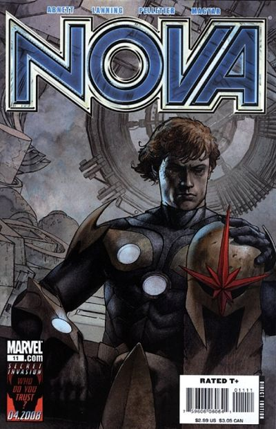 Cover for Nova (Marvel, 2007 series) #11