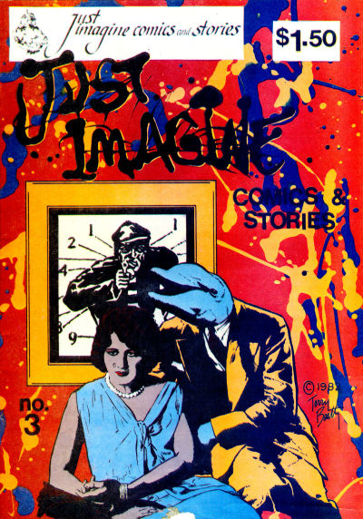 Cover for Just Imagine Comics and Stories (Just Imagine Graphix, 1982 series) #3