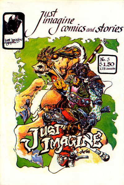Cover for Just Imagine Comics and Stories (Just Imagine Graphix, 1982 series) #5