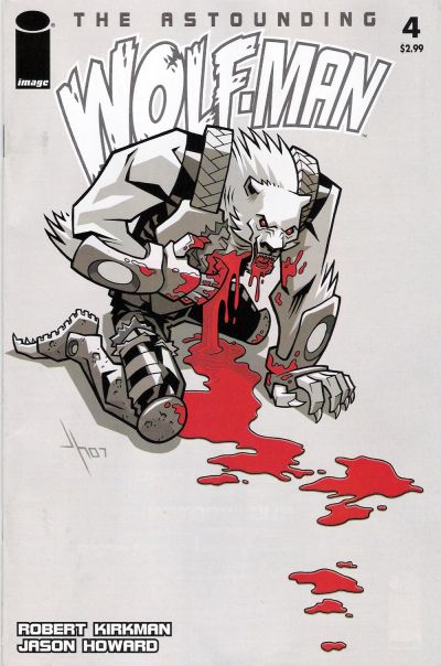 Cover for The Astounding Wolf-Man (Image, 2007 series) #4