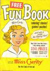 Cover for Miss Curity Fun Book (Kendall Company, 1952 series)