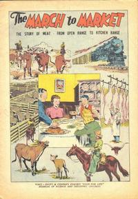 Cover Thumbnail for The March to Market (Wm C. Popper & Co, 1948 series)