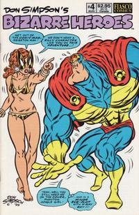 Cover Thumbnail for Don Simpson's Bizarre Heroes (Fiasco Comics, 1994 series) #4