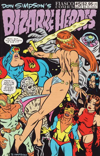 Cover Thumbnail for Don Simpson's Bizarre Heroes (Fiasco Comics, 1994 series) #5