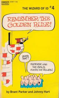 Cover Thumbnail for Remember the Golden Rule [The Wizard of Id] (Gold Medal Books, 1971 series) #4 (D2487)