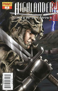 "Cover Thumbnail for Highlander: Way of the Sword (Dynamite Entertainment, 2007 series) #1 [""Left"" Cover A]"
