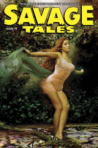 Cover Thumbnail for Savage Tales (Dynamite Entertainment, 2007 series) #5 [Arthur Suydam Cover]