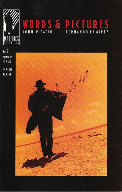 Cover for Words & Pictures (Maverick Studios, 1994 series) #2