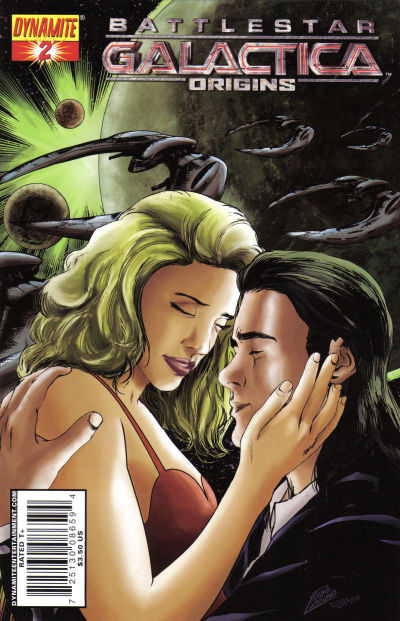 Cover for Battlestar Galactica: Origins (Dynamite Entertainment, 2007 series) #2 [2B]